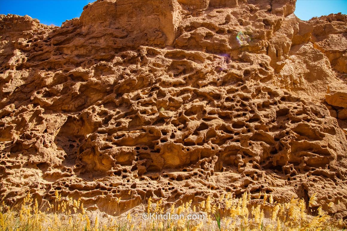kal-e Jeni, un incredibile canyon sabbioso in Iran