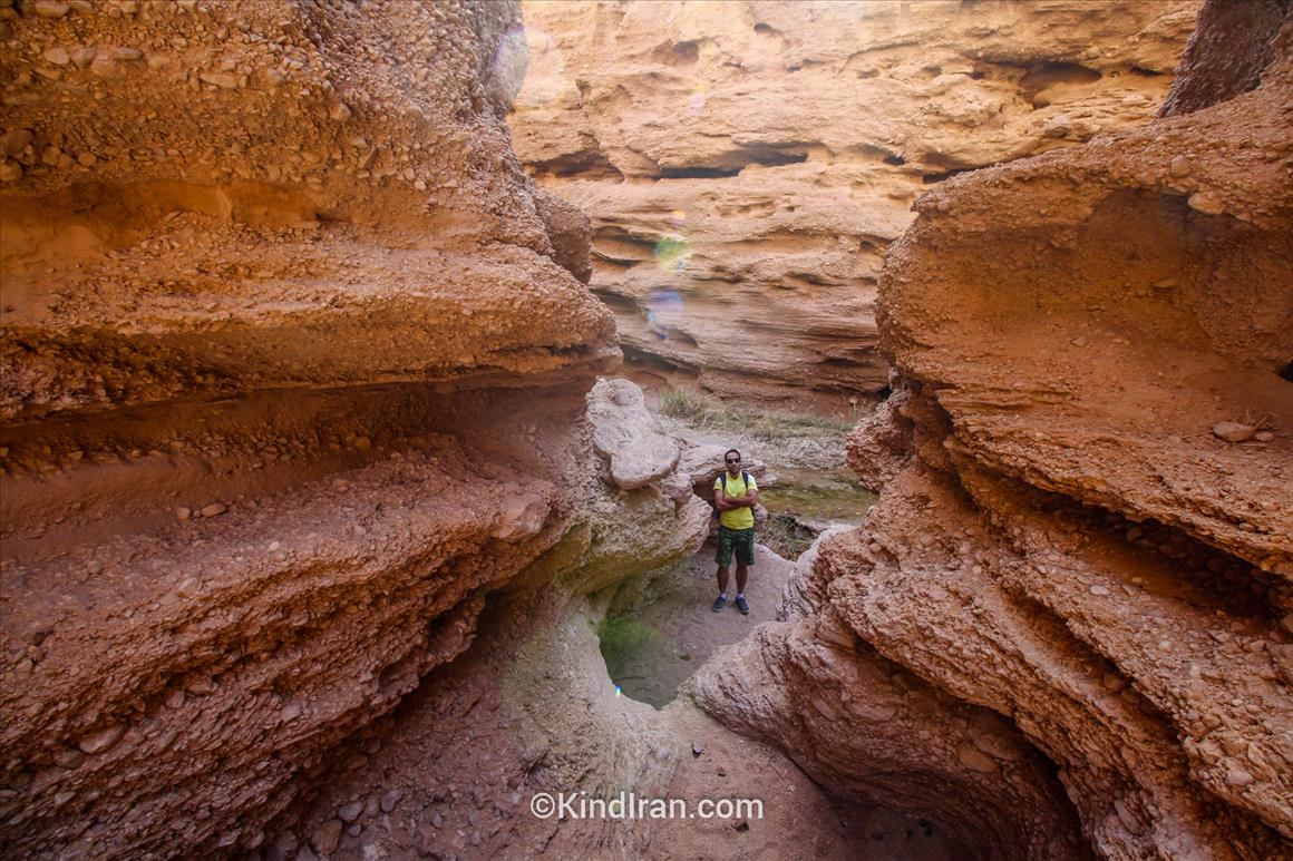 kal-e Jeni, an Amazing Sandy Canyon in Iran