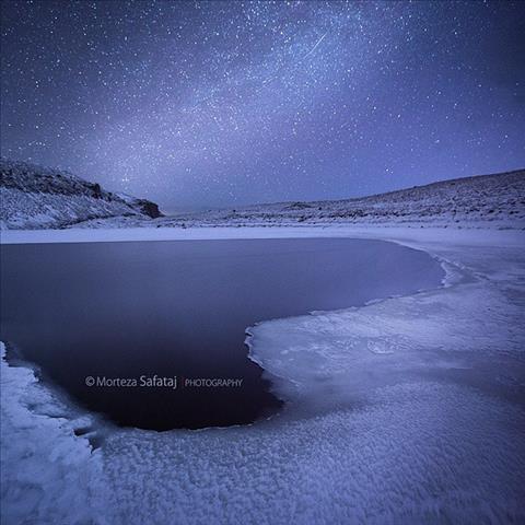 شب یخ زده
