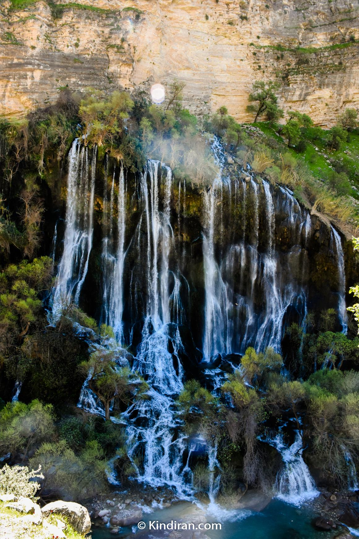 Shevi, the Largest waterfall in Iran