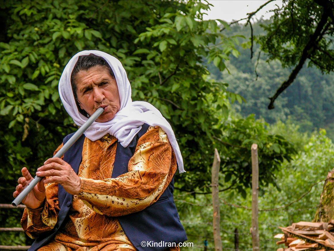 Talish Old woman  (The last reed player legend)