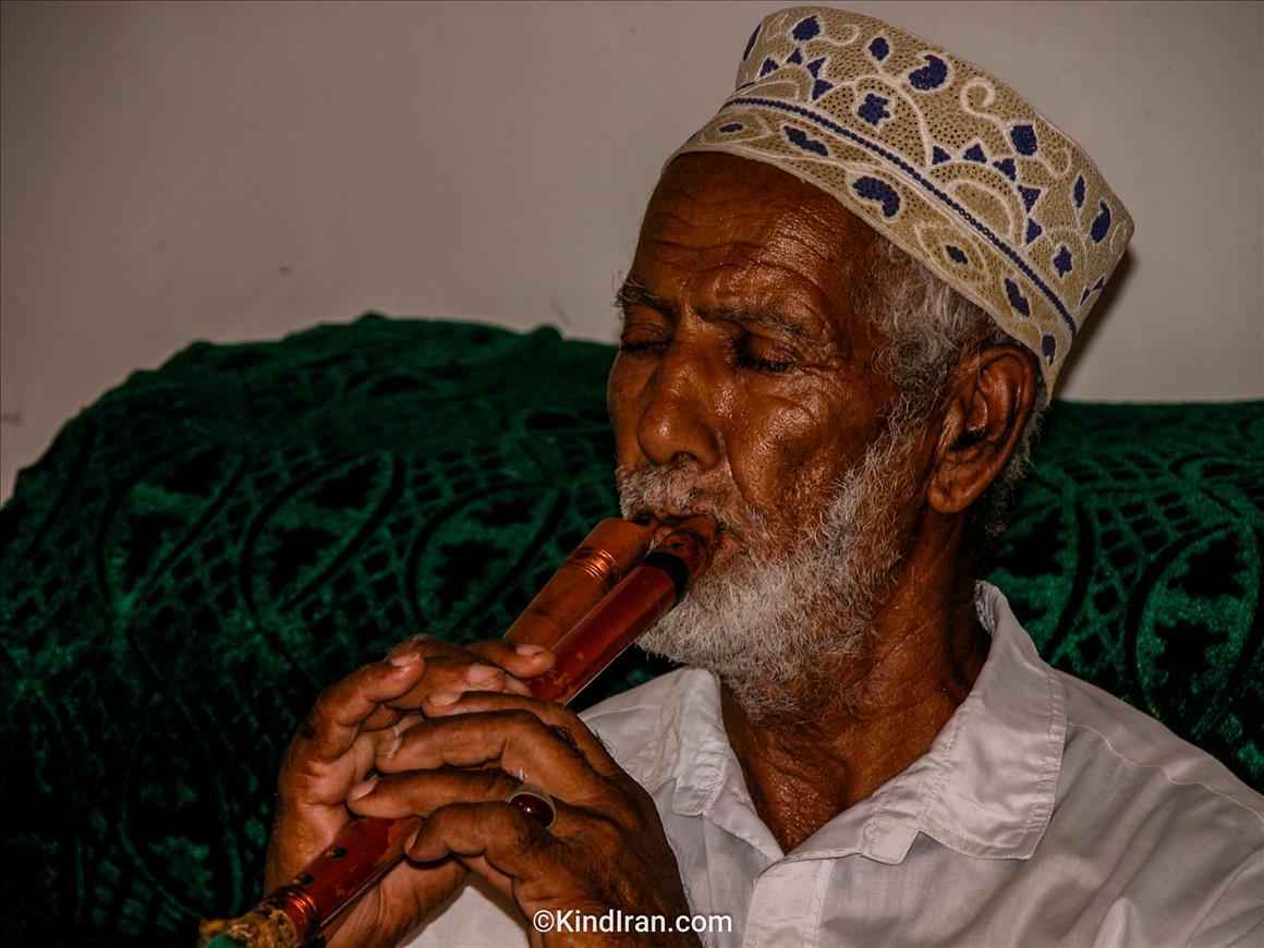 نوازنده شهیر دونلی بلوچستان