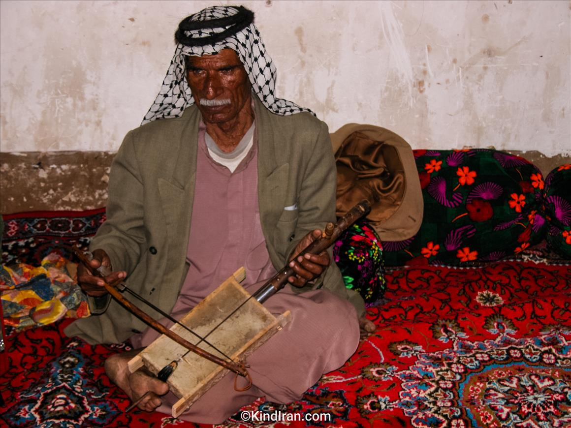 The last Rabab-Al-Shair in Khouzistan!