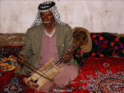 آخرین نوازنده رباب الشاعر در خوزستان!