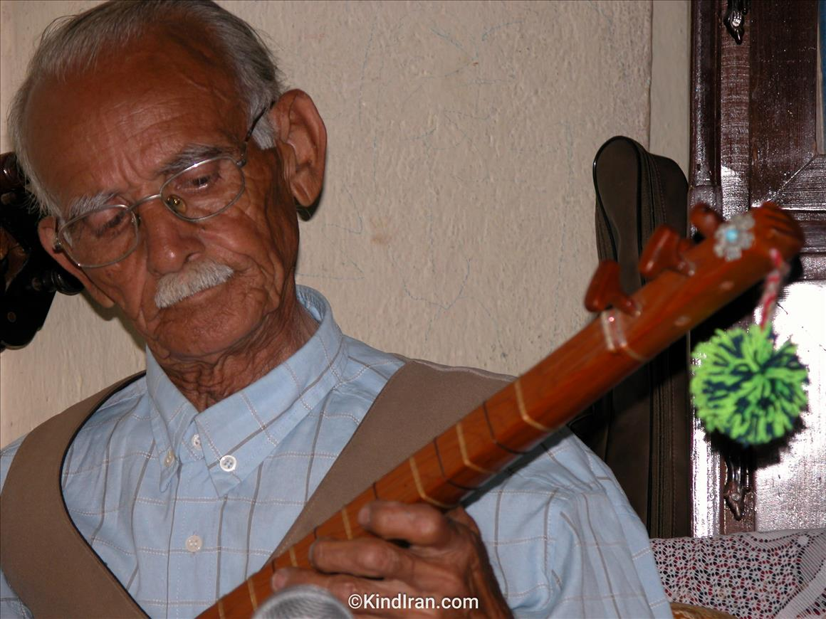 The oldest Tanbour player in Talish areas!