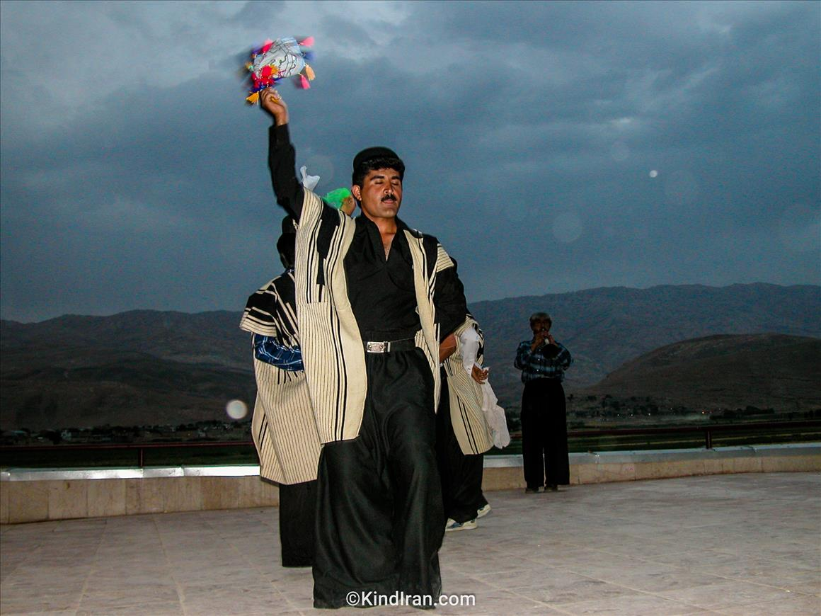 Men dancing in Bakhtiyari tribes!