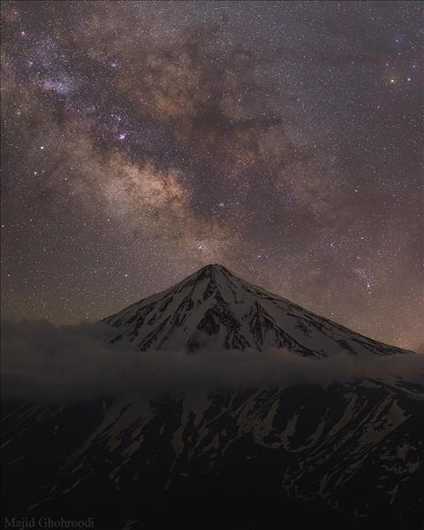 I'm at peace with you ... Damavand ...