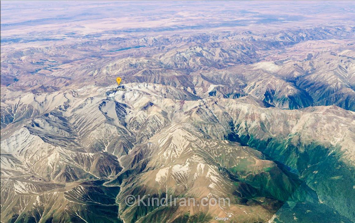Alam-Kuh, Alps of Iran