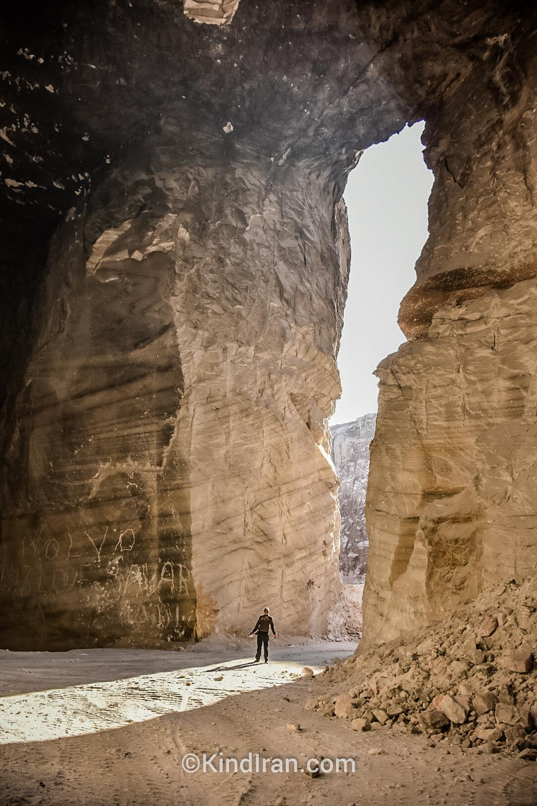 معادن نمک گرمسار؛ تونلهایی از جنسی متفاوت