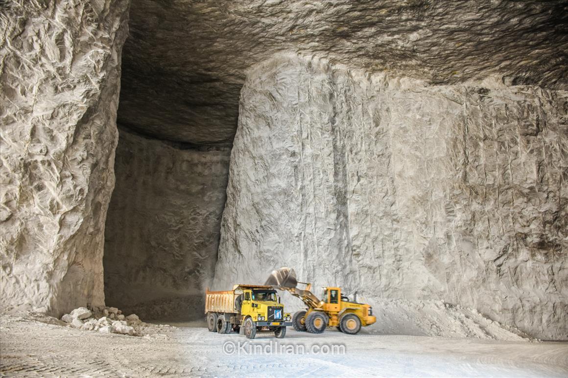 Salt Mines of Garmsar; Some New Kind of Tunnels