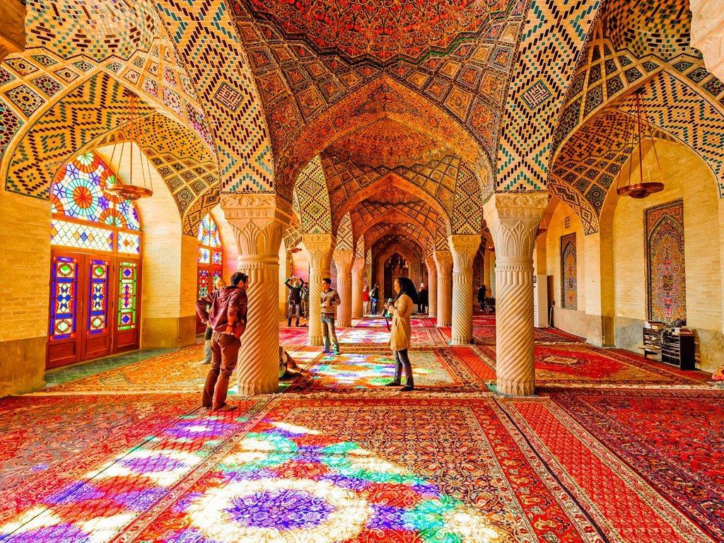 Nasir al-Mulk 'Pink Mosque'