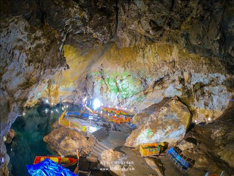 Saholan Mahabad Cave
