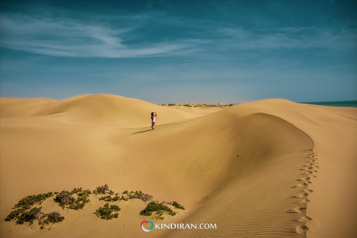 Where the Darak Desert meets the Sea