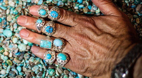 آبی به رنگ فیروزهی ایرانی
