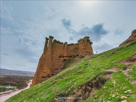 معماری قلعه بهستان