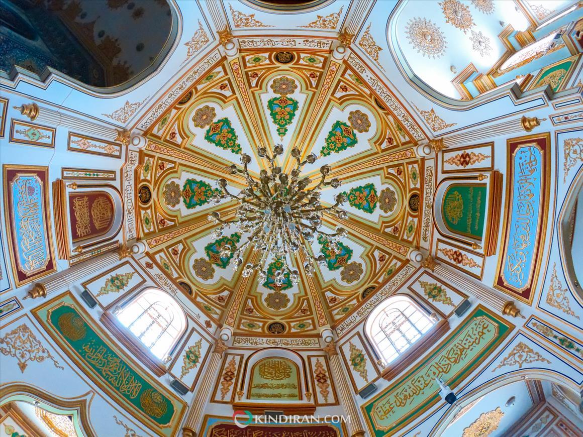 معماری درخشان مسجد شافعی کرمانشاه
