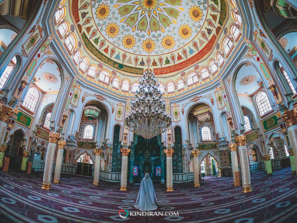 گچبریهای مسجد شافعی