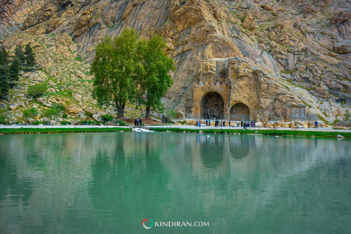 طاق بستان، شکارگاه شاهان ایران کهن