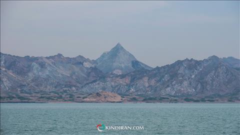 Hormuz Island from sea