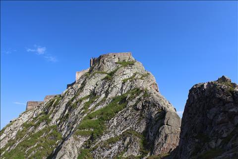 An eternal fort over Azerbaijan's mountains