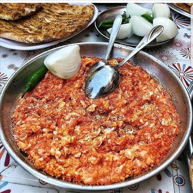 Persian Tomato Omelet