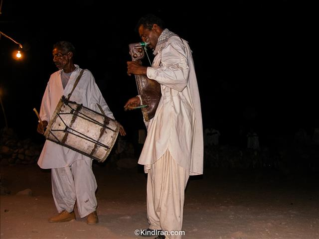 Wedding in the night of blouchistan