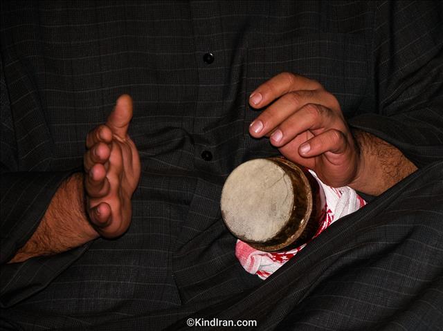 Kasoureh (percussion instrument in Khouzistan)
