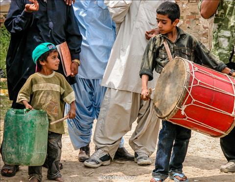 کودکان، نوجوانان و موسیقی بلوچی