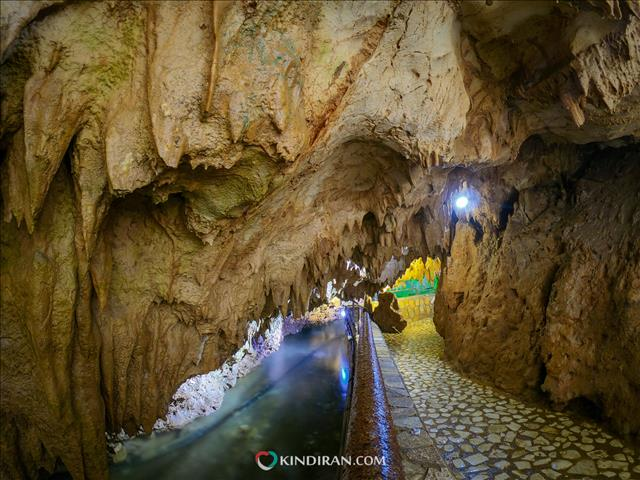 Quri Qala Cave, Asia's largest water cave