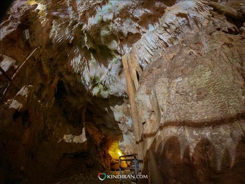 اقلیم محل قرار گیری غار قوری قلعه